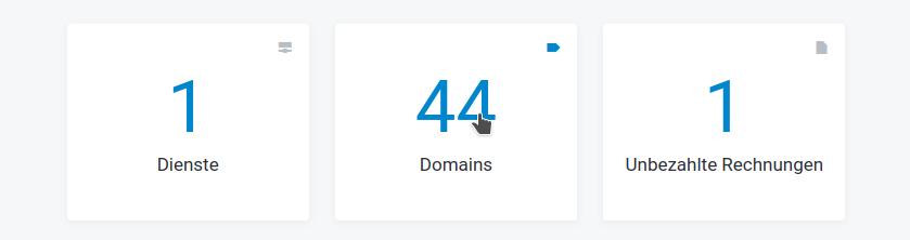 Screenshot: Kundencenter / Startseite